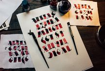 calligraphy | lettering | typography