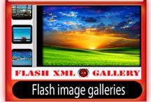 Flash image galleries / Flash photo galleries and slideshows
