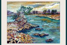 2016 Paintings - Talulah Belle Lautrec-Nunes / acrylic paintings by New Zealand artist Talulah Belle Lautrec-Nunes. Painted in 2016