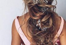 Bridal Hair / How you choose to wear your hair on the big day will influence which jewellery will look best.