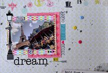 Layouts | Странички / Memories in the style of scrapbooking