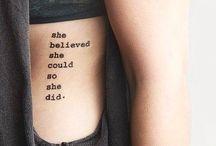 **tattoos