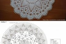 Crochet Rugs & Tablecloth