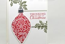 Embellished Ornaments Card Ideas / by Laurie Graham: Avon Rep