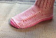Dorm pink boots