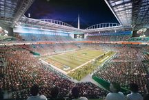 Sun Life Stadium Renderings / The new and improved Sun Life Stadium. We'll see you there. / by Miami Hurricanes