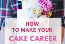 SugarCakeSchool.com / Tutorials + Cake Business Tips for Bakers & Decorators wanting Build a Successful Cake Business