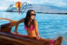 Maui Jim zonnebrillen / Maui Jim zonnebrillen zijn de beste zonnebrillen ter wereld! Door de speciale PolarizedPlus technologie heb je een onvoorstelbaar scherp en kleurig zicht door een Maui Jim. Zo mooi zelfs dat je de Maui Jim zonnebril bijna niet meer afzet! Ben je benieuwd naar onze collectie Maui Jims? Ga naar: http://goo.gl/OBHNUR