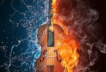 hangszerek képeken