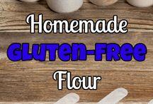 Home made gluten free flour