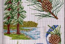 Cross Stitch: Plants