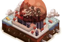 Illustration / Isometric