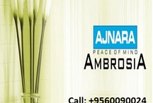 Ajnara Ambrosia / Ajnara ambrosia offers 2/3/4 BHK apartments with most advanced amenities at sector 118 Noida. Call @ +91-9560090024 Finlace consulting  for booking.