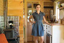 Pint-sized Homes / Tiny, small, adorable, eco-friendly, carbon footprint, environmentally conscience homes