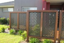 Creative fence/privacy solutions!