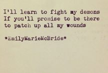 Words of wisdom / Inspiring words... regardless of the design.