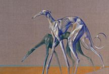 Sighthounds in art