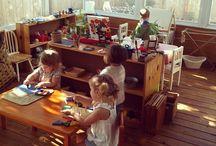 Areas o salones montessori