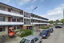 Heerhugowaard, Magnoliaflat / Renovatie, 1 flat met 27 woningen. Verwijderen oude balkons en galerijen (consoles afgekeurd). Vervolgens enginereeren, leveren en monteren van nieuwe consoles & galerijen en wandschijven & balkons van beton.
