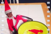 That damn elf..... / by Heather DiPaolo