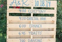 Group wedding board