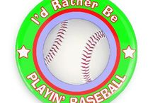 Sports Buttons / Funny Buttons - Custom Buttons - Promotional Badges - Sports Pins - Wacky Buttons