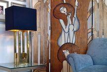 Interiors | Home decor | Folding Screens