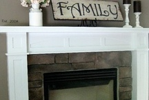 mantle ideas / by Christy George