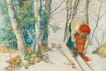 Illustrators / Carl Larsson