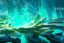 Landscape - Crystal/Energy
