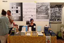 """THE NY ART BOOK FAIR AT MoMA / Ramaya Tegegne """"Version #8: Tino Sehgal"""" Urs Lehni & Stefan Wagner & HEAD - Geneva  Work. Master Students book launch """"Living in the Theme Park"""" from September 19th to September 22nd 2013  / by HEAD – Genève"""