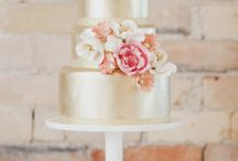 wedding cakes & cake toppers