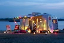shelter: airstream fantasies and glamping dreams / glampers, campers, trailers, fun / by Rebecca Benson
