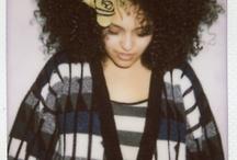 Hairgasm / I got big chunky coily hair. So I love images of big chunky coily hair. End of story.