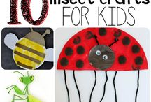 Mini beasts / Bugs, creepy crawlies, mini beasts, insects and all teeny tiny things! Crafts, play activities, learning trough play and more.