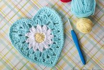 """Crochet Granny Square Patterns and Inspiration / For the love of all things """"Granny"""" !! Blankets, square, granny stripes, granny ripple, home decor, baby items, afghans"""