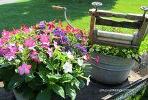 zahradní kouty / neobvyklé zahrady a nápady