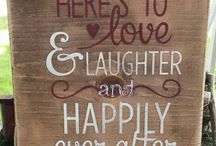 Here's to love & laughter