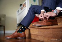 Wedding Socks! / A collection of photos of groom's and groomsmen with funky and awesome socks to give them an extra pop for the big day.