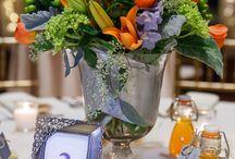 Wedding Centerpiece Ideas | Pond House Cafe / Centerpieces from the weddings at the Pond House Cafe!