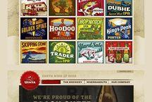 web design - vintage