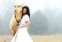 Glamour horse