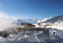 Ultimate luxury Chalets Top Hot Tub Photos