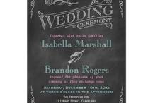 Chalk Board Wedding