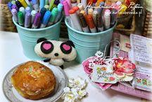 My craft room - Pejtoon / www.martazaborowska.pl
