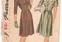 My 1940s War Era Patterns