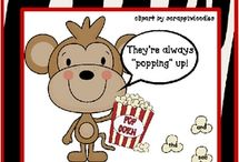 Movie Popcorn Theme / by Gena Gibson