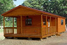 Dream Cabin / Built to your specifications. Call us or come by one of our locations. See all our building designs at: http://www.betterbarns.net