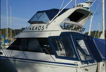 Boats Boats and More Boats / Made to measure boat covers, biminis, canopies, screens, backdrops and more .... check out some of the vessels we have protected from wind, rain and sun ...