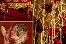 Gold & Red